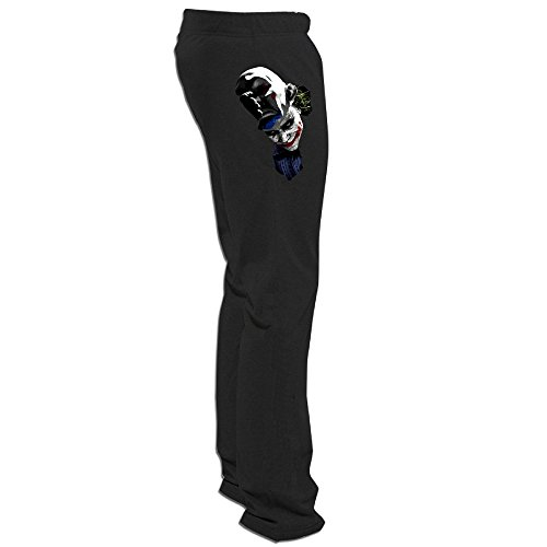 Texhood MEN'S Cool Joker Black Training Pant Size - Origin Bloody Mary