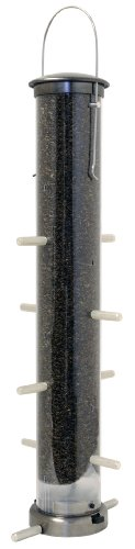 Aspects 398 Quick-Clean Thistle Tube Feeder, Large - Brushed ()