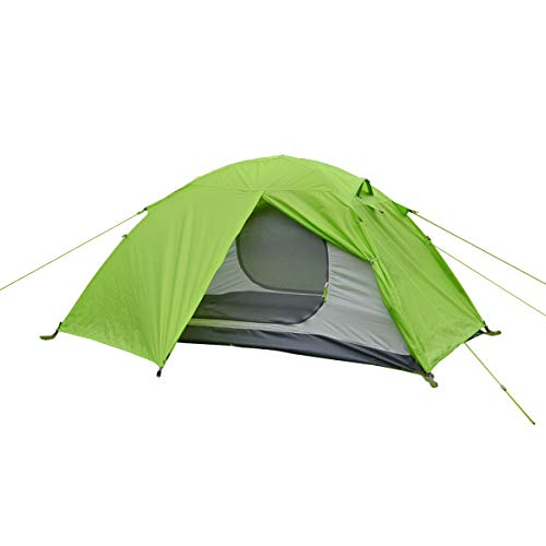 (ALLBEYOND Ultralight 2-Persons 3 Season Waterproof Backpacking Tent Camping Lightweight Tent for Family,Outdoor,Hiking and Mountaineering (Green, 2 Persons))