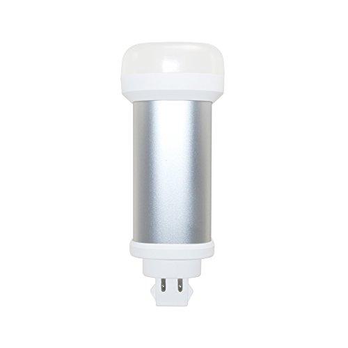 Euri Lighting EPL-1150v LED PL Vertical Retrofit, Plug & Play, Cool White 5000 K, Non-Dim 12W (18W Equiv) 1100 Lumens, Damp Rated 150 Degree Beam Angle, G24Q-3/GX24q Base, DLC Listed