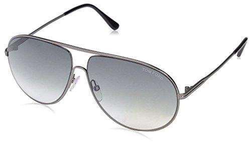 - Tom Ford Women's FT0450 Sunglasses, Matte Gunmetal