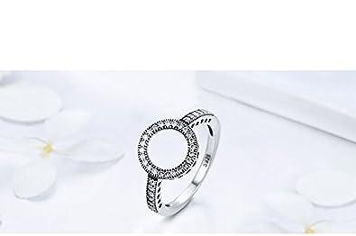 Amazon.com: Dixey Luxury Anillos Sortijas 14k de Compromiso ...