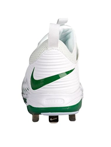 Nike Heren Air Forel 2 Pro Honkbal Cleat Wit / Wit-dennengroen