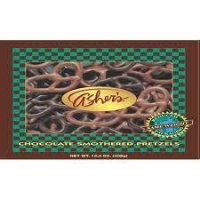 Asher's Milk & Dark Chocolate Covered Pretzels