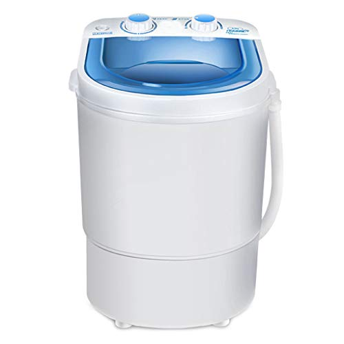 Portable Mini Washing Machine – Household Semi-Automatic Dehydration for Apartments Camping 335480 MM(Blue)