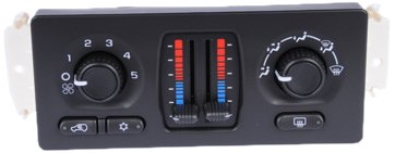 ACDelco 15-72958 GM Original Equipment Heating and Air Conditioning Control Panel with Rear Window Defogger Switch - Heat A/c Climate Control