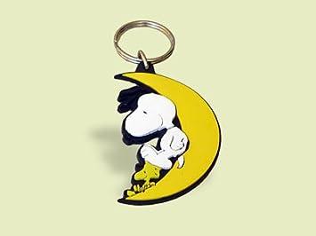 Schleich 22392 - Llavero, diseño de Snoopy en la Luna