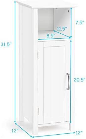 home, kitchen, furniture, accent furniture,  storage cabinets 2 image Tangkula Bathroom Storage Cabinet, Multifunctional Storage Cabinet with promotion