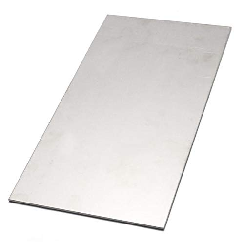 Titanium Alloy Plate 6AL4V Titanium Plate 300x150x3mm - Drill Bits Router Bit - 1 x Titanium sheet