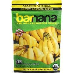 Barnana - Organic Original Chewy Banana Bites (12-3.5 OZ) - Banana Bit's are raw