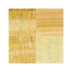 - 4x4 Sample of Honey Onyx Polished Flooring Solid Tiles 12