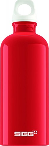 Sigg Fabulous Water Bottle, 0.6L, Pack of 6 (Red)