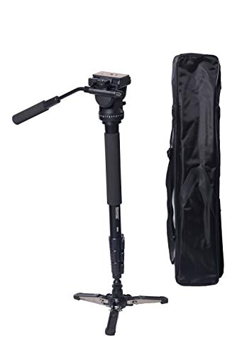 Simpex 882 Photo   Video Monopod with Two Way Fluid Pan and Tilt Head and Base