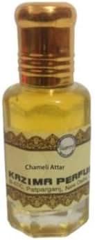 KAZIMA Pure Natural Ayurveda Herbal Chameli Attar Perfume Oil (10 ML)