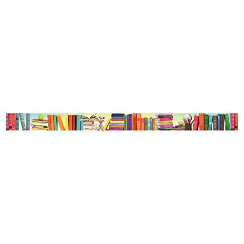 Edupress Book Parade Straight Border Trim (EP63289)