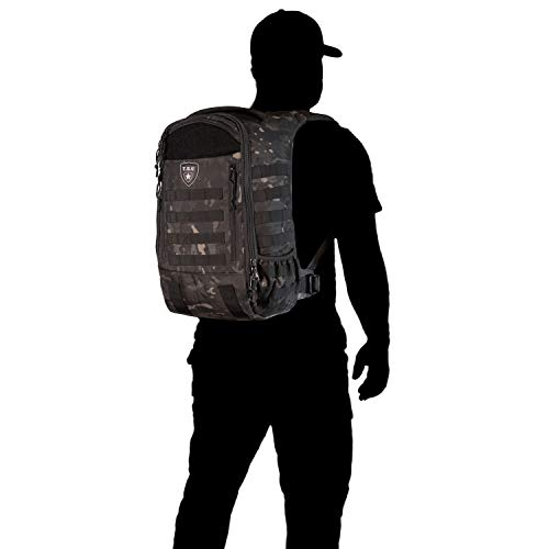 Tactical Baby Gear Daypack 3.0 Tactical Diaper Bag Backpack and Changing Mat (Black Camo) by Tactical Baby Gear (Image #9)