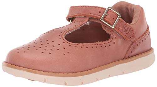 Cheap Mary Janes (Stride Rite Girls' SRT Nell Mary Jane Flat, Sierra, 4 M US)