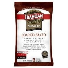 Idahoan Reduced Sodium Loaded Baked Mashed Potatoe, 31 Ounce -- 12 per case. by Idahoan