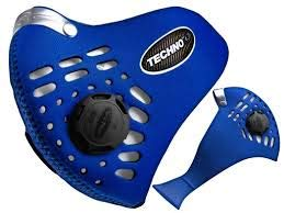 Respro Techno Anti-Pollution Mask - Medium - Blue by Respro (Image #1)