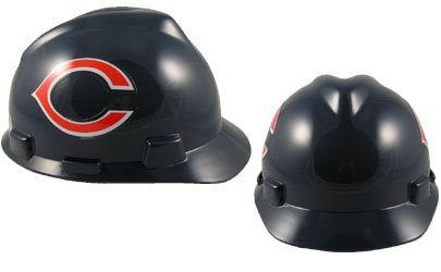 Safety Works NFL Hard Hat, Chicago Bears 1