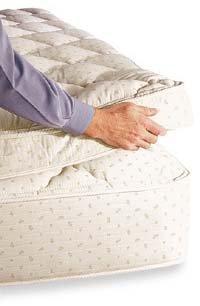 """royal-cloud 4 """", colchón, cama de tamaño Queen"""
