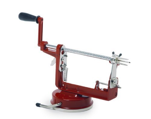 Norpro 866R Apple Master-Apple, Potato, Parer, Slicer & Corer with Vacuum Base by Norpro ()