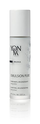Purifying Emulsion (Yonka Specifics Emulsion Pure Purifiante & Regenerante, Purifying and Regenerating Emulsion (1.7 Ounce / 50 Milliliter) - Face Treatment for Acne-Prone Skin Types)