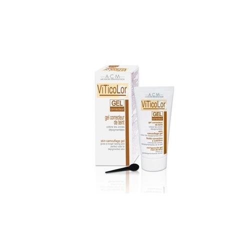 VITICOLOR SKIN CAMOUFLAGE GEL. Long lasting natural colouration for Vitiligo Skin. 50ml by Oxyvita Ltd