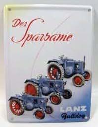 placa de 8 x 11 cm Diseño de publicidad Lanz Bulldog