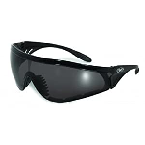 Global Vision Eyewear Python Safety Glasses, Smoke Lens