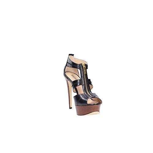 Michael Kors 40s6brha1l Sandale Noire Pour Femme