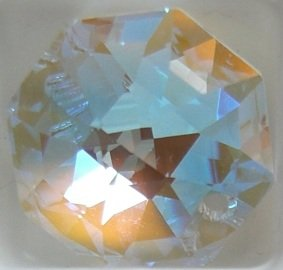 Swarovski 40mm Aurora Borealis Crystal Star Prism