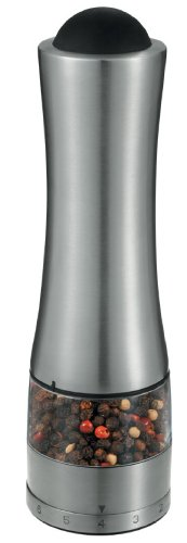 (Prodyne PE-30 Stainless Steel Automatic Pepper or Salt Mill,)
