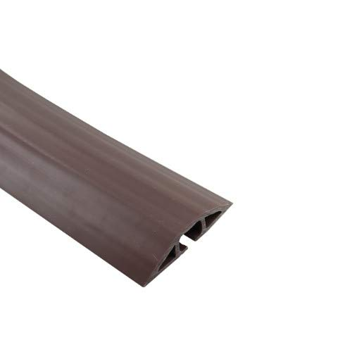 Rubber Duct Cable Cord Cover Brown 5ft by WireRun ()