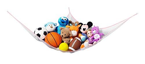 Toy Storage Hammock - Extra Large Hanging Net, Jumbo 6 Ft Pi