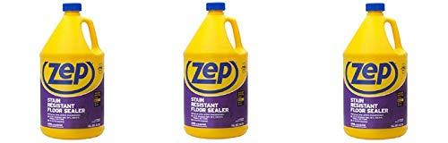 Zep Stain Resistant Floor Sealer, 1 gal Bottle (3-(Pack))