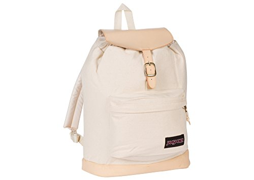 JanSport Haiden Laptop Backpack (Natural Canvas)