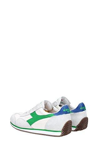 Diadora Heritage, Uomo, Equipe Stone Wash, Suede / Canvas, Sneakers, Bianco Grigio