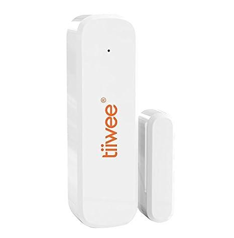 tiiwee Sensor de Ventana y Puerta TWWS02 para el Sistema de Alarma de Casa - Sistema de Alarmas Inalámbrico Anti-Robo - Seguridad en el Hogar