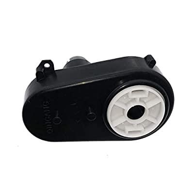 WSJ Steering Gearbox with Motor RS380 12V Electric Motor Steering Motor for Remote Control Ride On Toys Accessories Match Kids Ride On Car Replacement Parts: Toys & Games