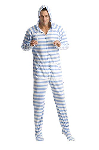 Teen Footie Pajamas (Jumpin Jammerz Blue Steel (Extra)
