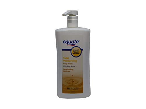 Equate Total Moisturizing Body Wash with Shea Butter