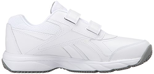 Reebok Women's Work N Cushion Kc 2.0 Walking Shoe, Black/Black White/Flat Grey