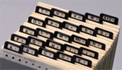 EGP A-Z Index Guides, Metal Tabs, Size 6 1/2 x 9 1/4 by EGPChecks