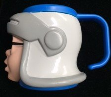 Pagemaster Richard Tyler Plastic Figural Cup with Handle (1994)