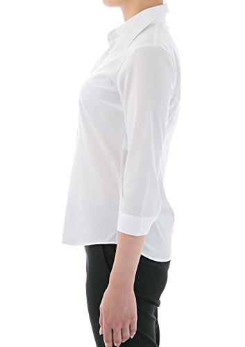 Donna Favorites Leonis Shirts Bianco amp; Classico Camicia Modellante Vestito E0q0vfnz