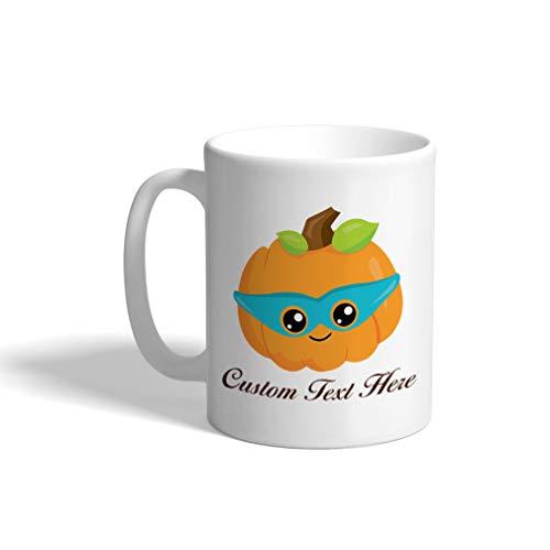 Custom Funny Coffee Mug Coffee Cup Halloween Pumpkin
