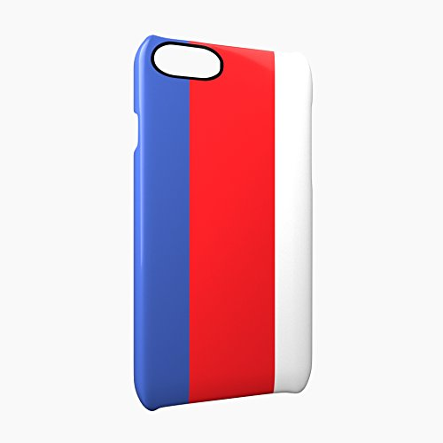 Flag of Serbia Glossy Hard Snap-On Protective iPhone 7 Case Cover