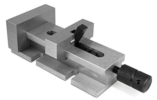 WEN 33124A 3.5-Inch Quick-Release Vise for Milling Machines, Drill Presses and Workbenches by WEN (Image #3)