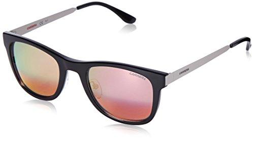 Carrera CA5023S Wayfarer Sunglasses, Interchangeable cover, Ruthenium Black & Green Red, 52 - Cover Wayfarer